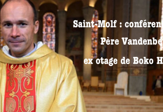 Saint Molf : conférence du P. Vandenbeusch, ex otage de Boko Haram