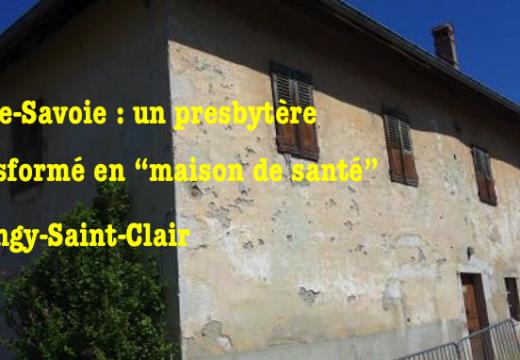 Haute-Savoie : après la profanation de l'église, la destruction du presbytère à Dingy-Saint-Clair