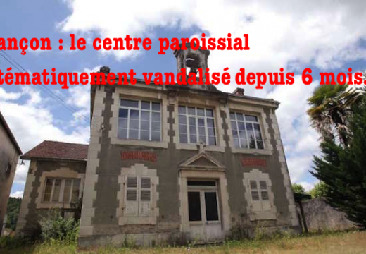 Jurançon : le centre paroissial vandalisé