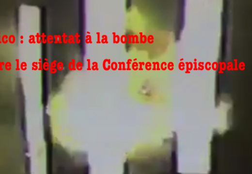 Mexico : bombe contre le siège de la Conférence des évêques