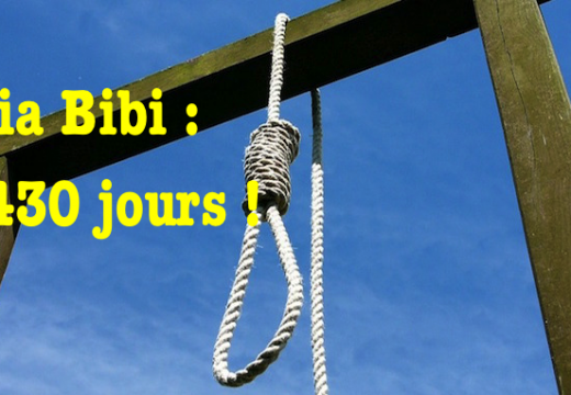 Asia Bibi : 2 430 jours !