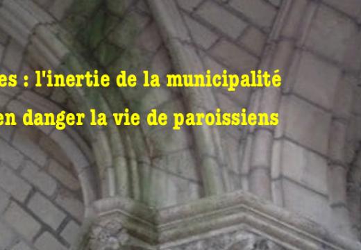 Nantes : la grande misère des églises dont la municipalité est responsable