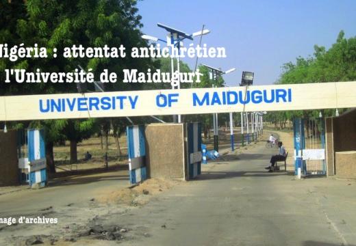 Nigéria : attentat ciblé contre les chrétiens à Maiduguri
