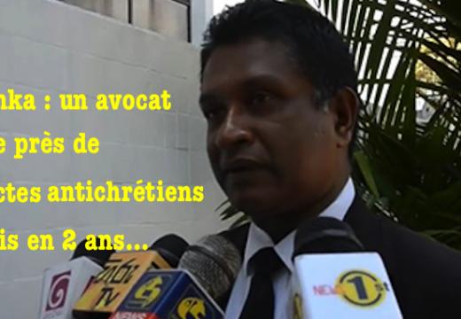 Sri Lanka : 195 actes antichrétiens depuis deux ans