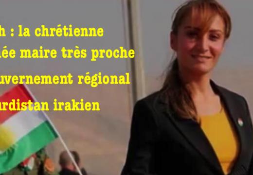 Irak : une chrétienne nommée maire d'Alqosh