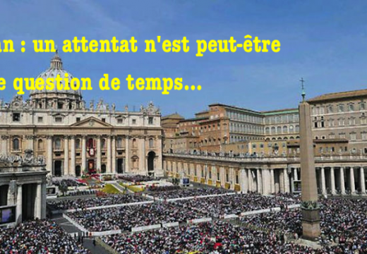 Garde suisse : un attentat au Vatican n'est qu'une question de temps…