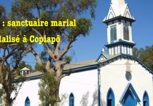 Chili : un Crucifix vandalisé à Copiapó