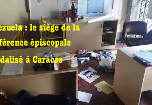 Venezuela : le siège de la conférence épiscopale vandalisé