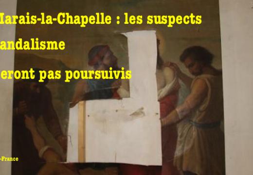 Le Marais-la-Chapelle : pas de plainte contre les vandales de l'église