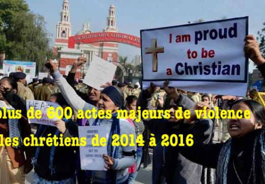 Inde : plus de 600 actes de violence contre les chrétiens en trois ans…
