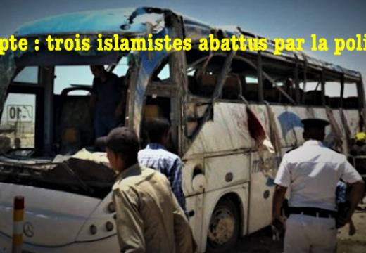 Égypte : ce sont trois attaquants du bus de pèlerins coptes, qui ont été abattus