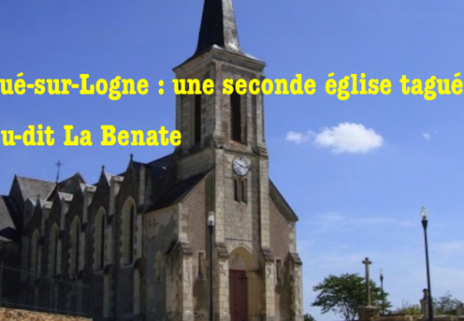 Corcoué-sur-Logne : une seconde église taguée