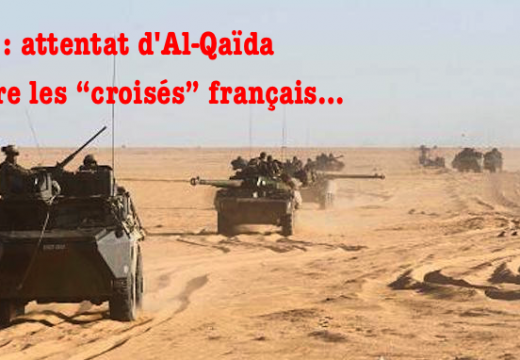 "Mali : attentat d'Al-Qaïda contre des ""croisés"" français…"