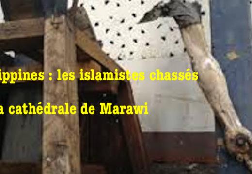 Philippines : la cathédrale de Marawi libérée de l'occupation islamique