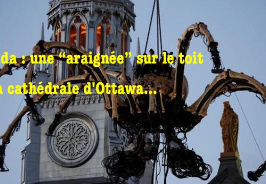 Canada : mésusage de la cathédrale d'Ottawa