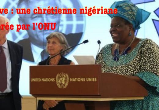 Nigéria : une chrétienne distinguée par les Nations unies