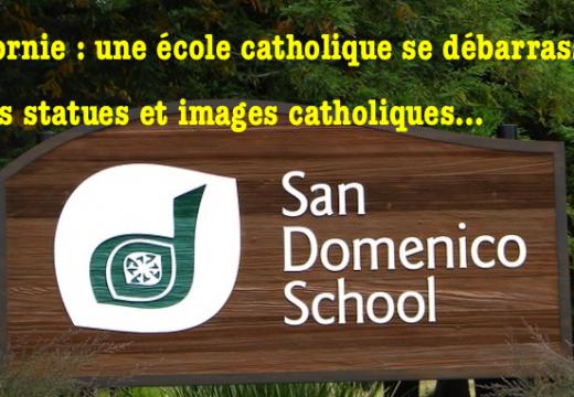 États-Unis : des symboles catholiques supprimés dans une école catholique de Californie