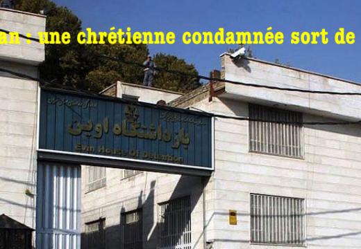 Iran : une chrétienne libérée de prison