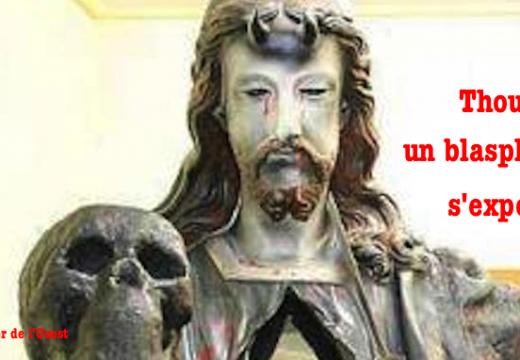 Thouars : exposition d'une œuvre blasphématoire