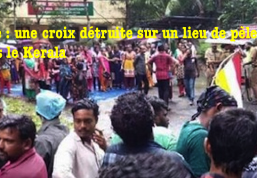Inde : une croix de pèlerinage détruite dans le Kerala