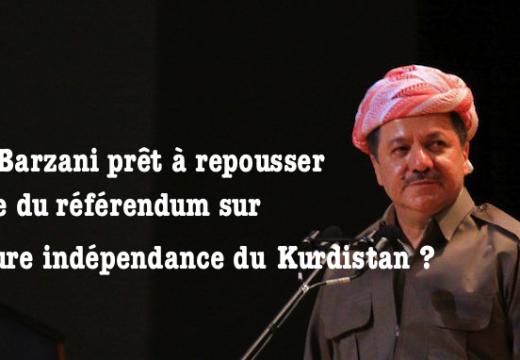 Région autonome du Kurdistan : vers un report du référendum sur l'indépendance ?