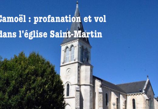 Morbihan : profanation et vol dans l'église de Camoël