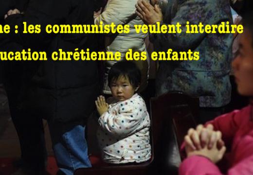 Chine : le Parti communiste augmente son emprise sur les enfants chrétiens