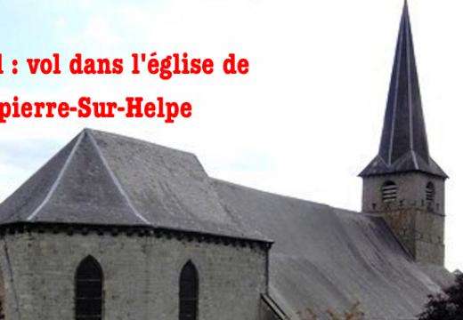 Nord : vol dans l'église de Dompierre-sur-Helpe