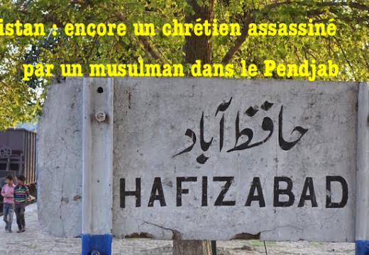 Pakistan : encore un chrétien assassiné par un musulman dans le Pendjab