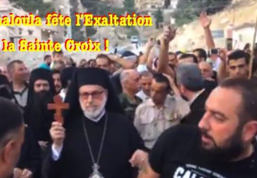 Maaloula : célébration de la fête de la Croix Glorieuse