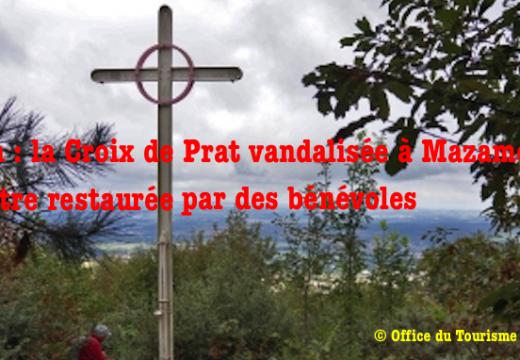 Tarn : la Croix de Prat vandalisée cet été à Mazamet