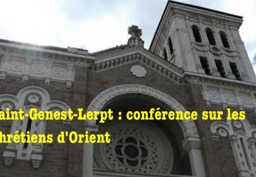 Saint-Genest-Lerp : conférence sur les chrétiens d'Orient