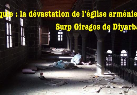 Turquie : images d'une église arménienne profanée à Diyarbakir
