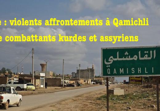 Syrie : affrontements entre combattants kurdes et chrétiens à Qamichli
