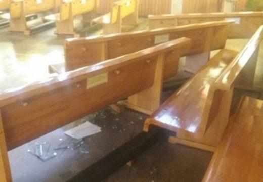 Chili : vandalisme et violences dans la cathédrale de Temuco
