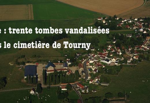 Eure : trente tombes vandalisées dans le cimetière de Tourny