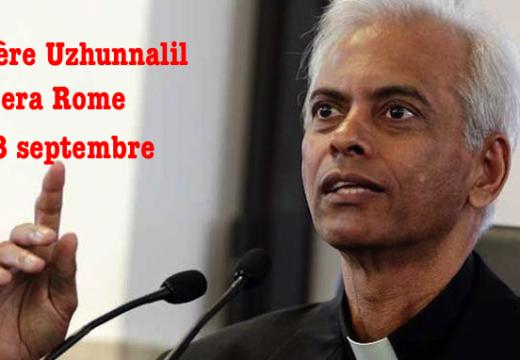 Le Père Uzhunnalil quittera Rome le 28 septembre