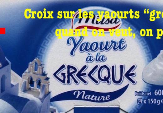 """Croix sur les yaourts """"grecs"""" : quand on veut, on peut…"""