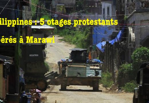 Marawi : 5 otages protestants libérés par l'armée