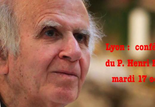 Père Henri Boulad : conférence à Lyon