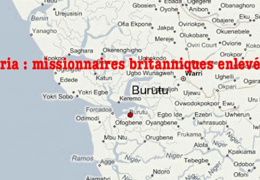 Nigéria : quatre missionnaires britanniques enlevés