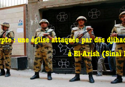 Égypte : une église attaquée par des djihadistes