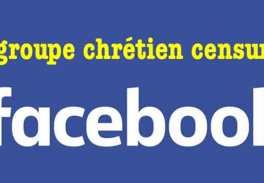 Facebook : une page de chrétiens fréquemment bloquée