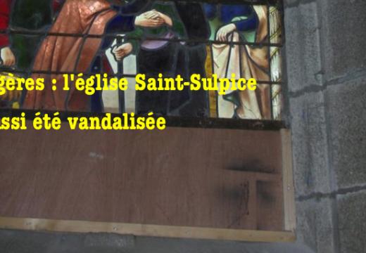 Fougères : l'église a aussi été vandalisée