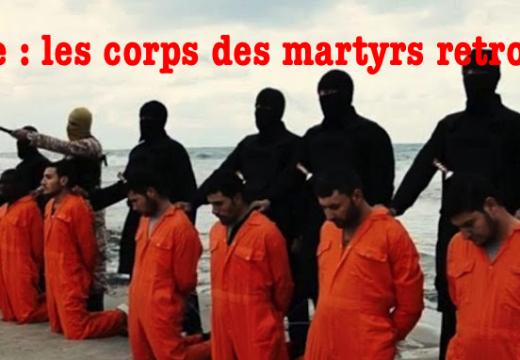 Libye : les corps des 21 martyrs coptes égyptiens retrouvés