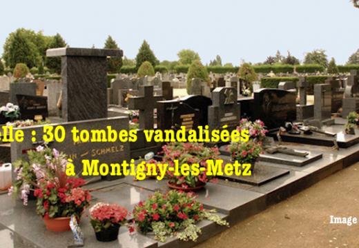 Moselle : trente tombes vandalisées à Montigny-les-Metz