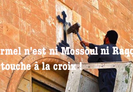 Ploërmel n'est ni Mossoul ni Raqqa : pas touche à la Croix !