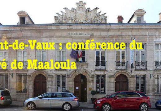 Ain : conférence du Père Toufic, curé de Maaloula, à Pont-de-Vaux
