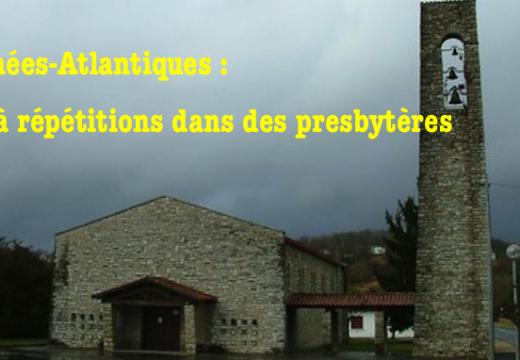 Pyrénées-Atlantiques : vols à répétitions dans des presbytères