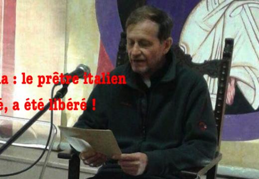 Nigéria : le prêtre italien enlevé, a été libéré